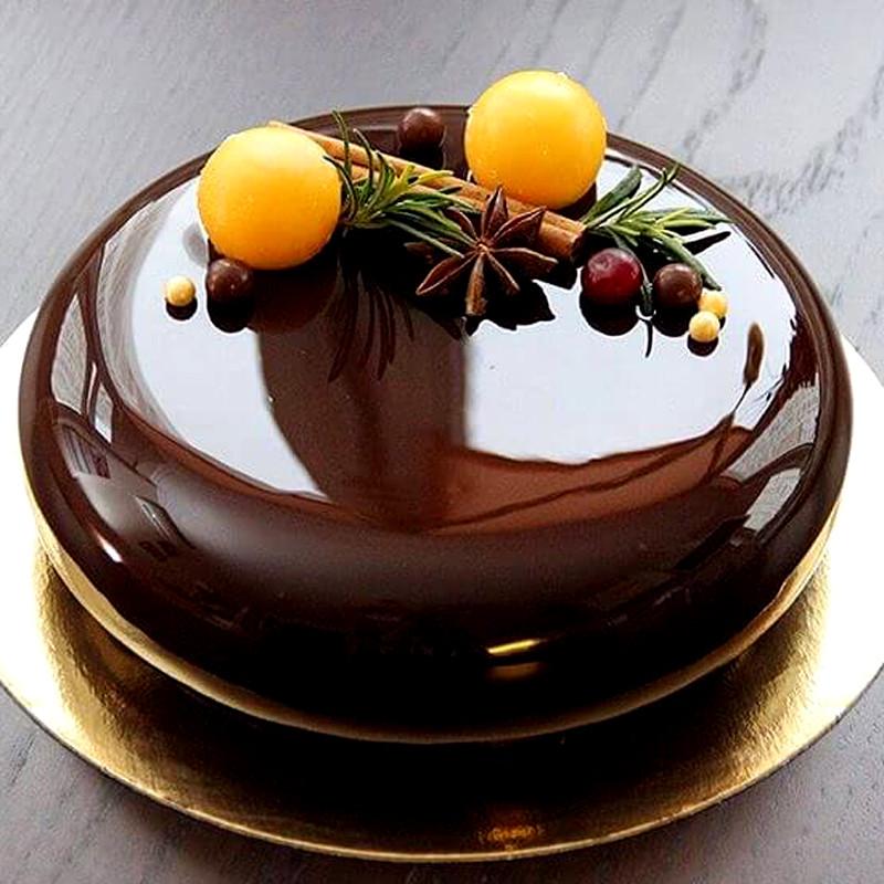 Шоколадная глазурь с желатином для торта рецепт